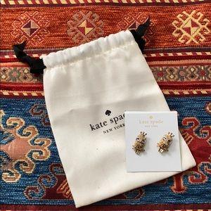 Kate spade owl earrings NWT